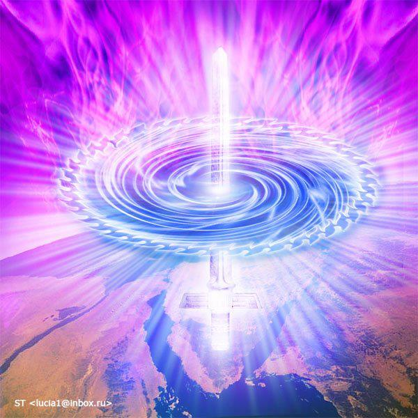 Mother ship Earth moving deeper and deeper into the vortex energy....