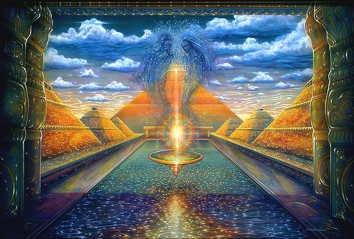 Pyramid activation and inner earth changes ....