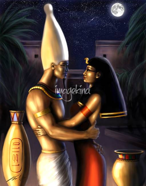 Osiris-and-Isis_art
